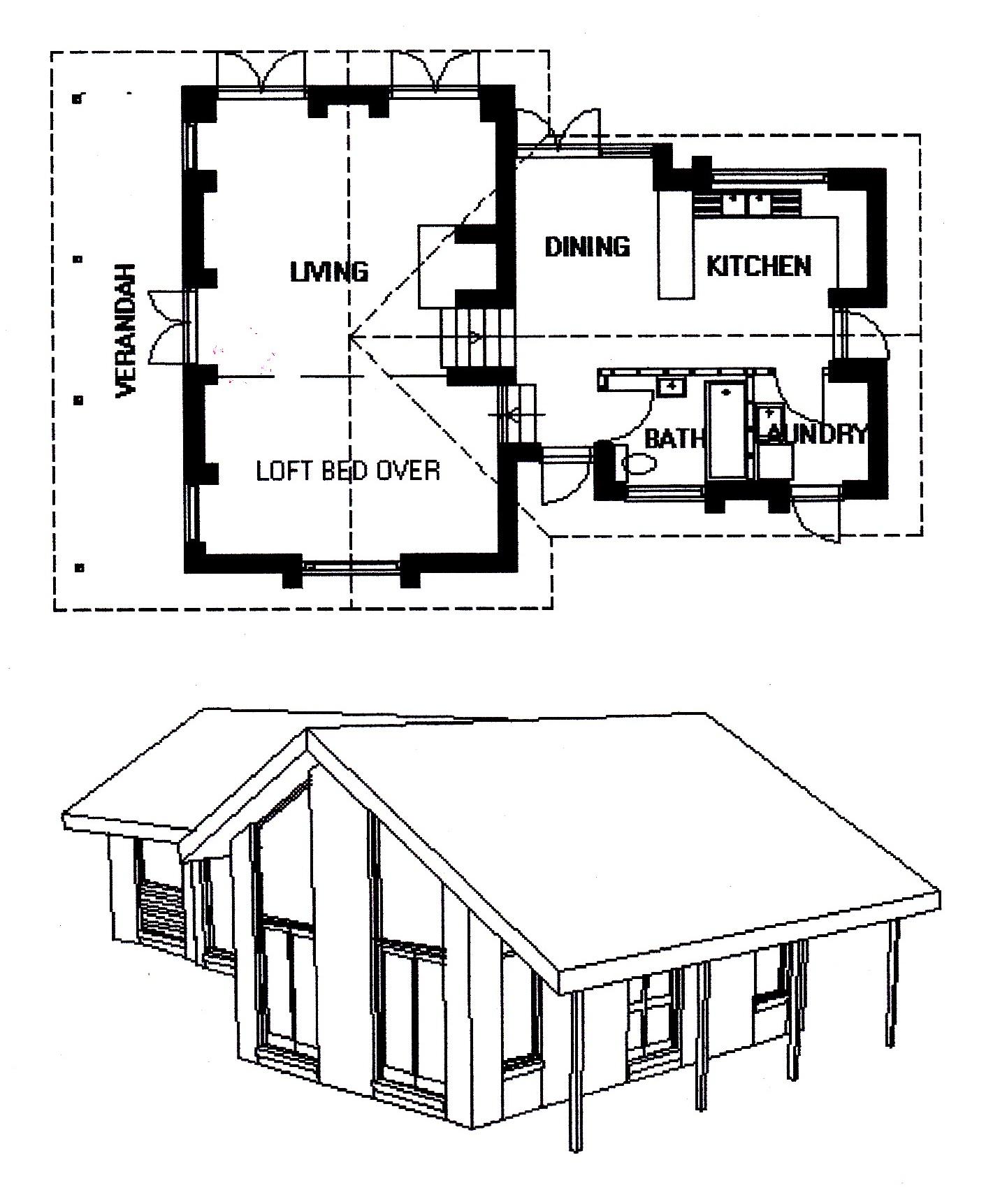 5 - Progetto per la Casa Thorma a Thlolego 2004